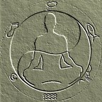 Mind Body Coach logo featuring a sitting, meditating person